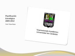 Para mostrar una gestión - Universidad de Carabobo