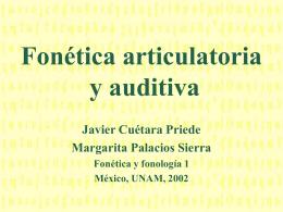 El_aparato_fonador - Fonética y Fonología
