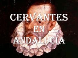 Cervantes en andalucía - AULA 31 | Bitácora de