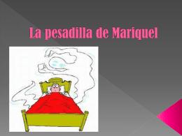 La pesadilla de Mariquel