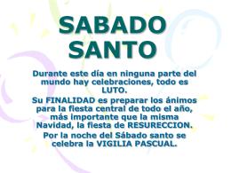 SABADO SANTO