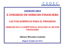 Competencia Sector Financiero