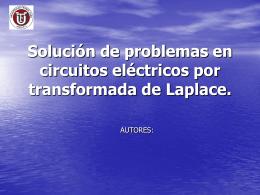 Solución de problemas en circuitos eléctricos por