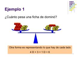 Ecuaciones - III-LIDI