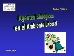 EXPOSICION LABORAL A AGENTES BIOLOGICOS