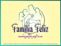 Happy Family Bible Seminar