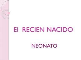 El RECIEN NACIDO - Tele Medicina de Tampico