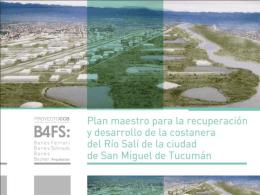 Plan Director para la recuperación del Río Salí