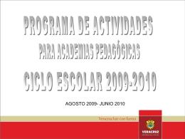 Academia Estatal - Supervisión Escolar zona