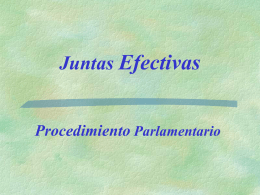 Juntas Efectivas - Parent Engagement