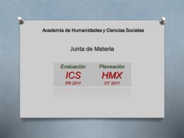 JUNTA DE MATERIA