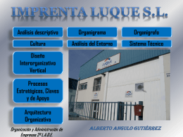 IMPRENTA LUQUE S.L. - trabajosgrupoA