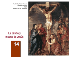 La pasión y muerte de Jesús - Arguments