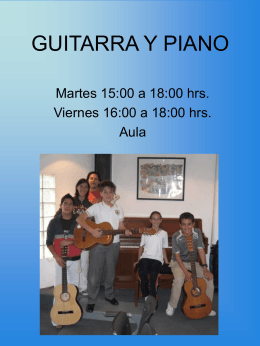 GUITARRA Y PIANO