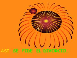 ASI SE PIDE EL DIVORCIO…