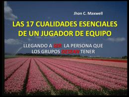 LAS 17 CUALIDADES ESENCIALES DE UN JUGADOR DE