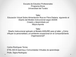 Escuela de Estudios Profesionales Programa Ahora