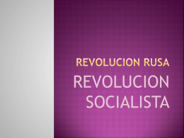 REVOLUCION RUSA - Modelo ONU Yumbo