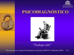 PSICODIAGNÓSTICO - Psicodiagnosticoudla`s Weblog