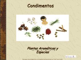 PLANTAS AROMATICAS Y ESPECIAS - Correo Index