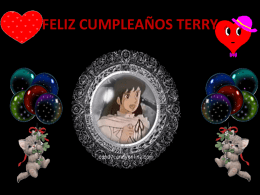 FELIZ CUMPLEAÑOS TERRY