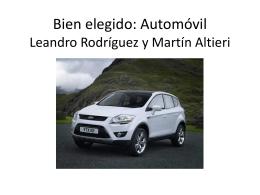 Bien elegido: Automóvil