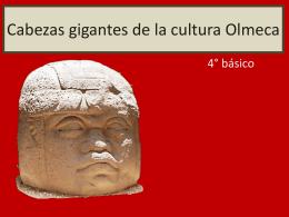 Cabezas gigantes de la cultura Olmeca