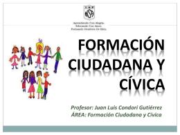 El civismo (del latín civis, ciudadano y ciudad)