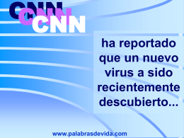 ha reportado que un nuevo virus a sido
