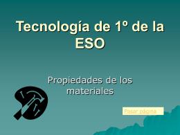 Tecnología de 1º de la ESO