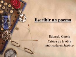 Escribir un poema