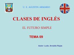 Diapositiva 1 - U. E. Agustín Armario | Liceo