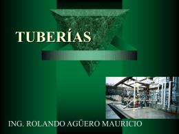 APLICACIÓN DE LOS SISTEMAS DE TUBERIAS