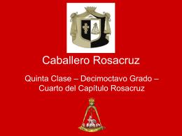 Grado 18º Soberano Príncipe Rosa Cruz 01