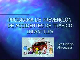 PROGRAMA DE PREVENCIÓN DE ACCIDENTES DE TRÁFICO EN