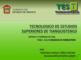 TECNOLOGICO DE ESTUDIOS SUPERIORES DE