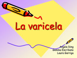 La varicela - Universitat de Barcelona