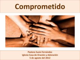 Compromiso - Casa de Oracion y Adoracion