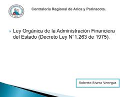 LEY ORGANICA DE LA ADMINISTRACION FINANCIERA DEL