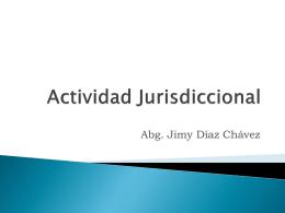 Órganos de Auxilio Judicial