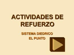 ACTIVIDADES DE REFUERZO
