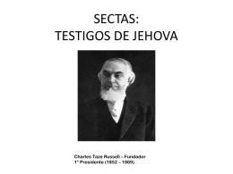 SECTAS: TESTIGOS DE JEHOVA