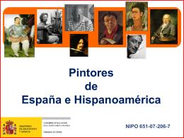 PINTORES HISPANOS - Inicio