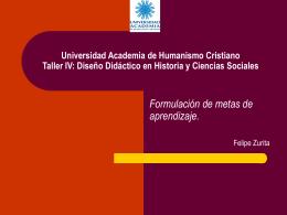 Universidad Academia de Humanismo Cristiano Taller