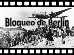 Bloqueo de Berlín