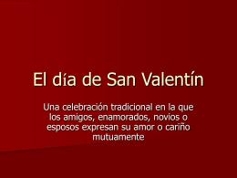 El dia de San Valentin