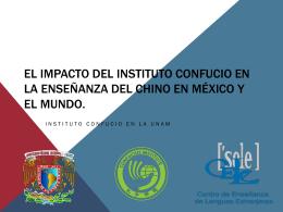 El impacto del Instituto Confucio en la enseñanza