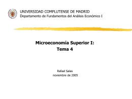 UNIVERSIDAD COMPLUTENSE DE MADRID Departamento de