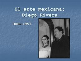 El arte mexicana: Diego Rivera