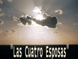 Las Cuatro Esposas - Web de la Iglesia de Cristo